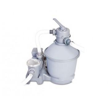 Песочный фильтр-насос BestWay 58400 BW, 3785 л/ч , резервуар для песка 18 кг