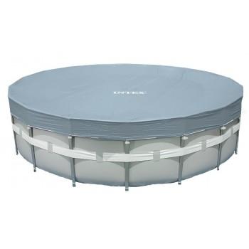 Тент Intex 28041, для каркасного бассейна Ultra Frame 549см (выступ 20см)