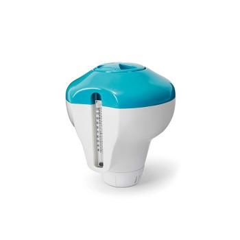 Поплавок-дозатор Intex 29043 с термометром, для химии в таблетках
