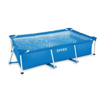 Каркасный бассейн Intex Rectangular Frame 28270, 220х150х60см, 1662л