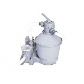 Песочный фильтр-насос BestWay 58404 BW, 5678 л/ч , резервуар для песка 25 кг