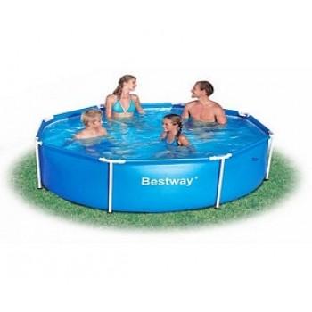Каркасный бассейн BestWay 56045 BW, 244х61 см, 1724л