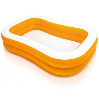 """Детский надувной бассейн Intex 57181 """"Мандарин"""", 229х147х46см, для детей от 6 лет"""