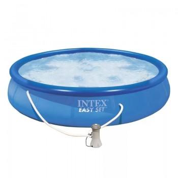 Бассейн надувной Intex Easy Set 28158, 457х84см, 9792л (+фильтр-насос 2006л/ч)