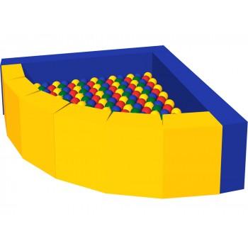 Сухой бассейн с шариками «Фасолька»