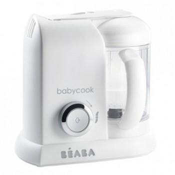 """Блендер-пароварка Beaba """"Babycook Solo"""", 912675 / White silver EU"""
