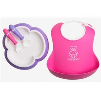 Набор для кормления BabyBjorn [ art. 0780 ], 46 / розовый-лиловый