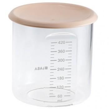 "Контейнер 420 мл Beaba ""Maxi+ Portion"", 912543 / Nude"