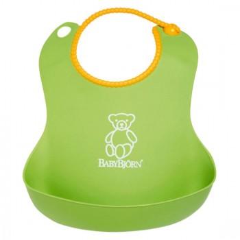 Нагрудник мягкий пластиковый BabyBjorn, 62 / зеленый