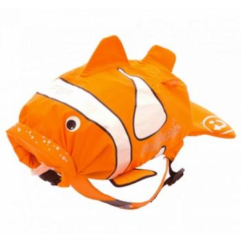 "Рюкзак для бассейна и пляжа Trunki ""PaddlePak"", 0112 / Рыба-Клоун"