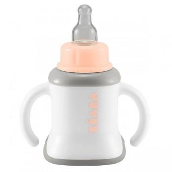 """Поильник Beaba """"Training cup"""", 913385 - Nude"""