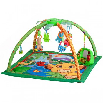 "Игровой коврик Fitch Baby ""Delux Musical Mobile Gym"", 8507 / Animal Play Gym"