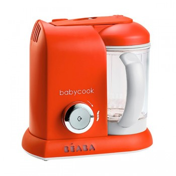 "Блендер-пароварка Beaba ""Babycook Solo"", 912548 / Paprika"