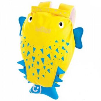 "Рюкзак для бассейна и пляжа Trunki ""PaddlePak"", 0111 / Рыба-Пузырь"