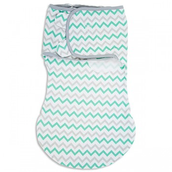 "Конверт для пеленания Summer Infant ""SwaddleMe WrapSack"", S/M, 54850 / Зигзаг"