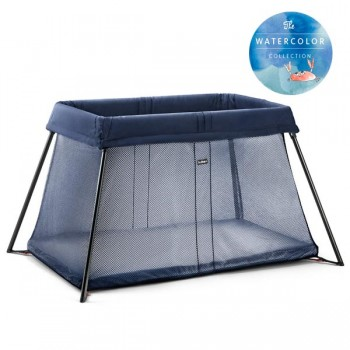 "Манеж-кровать BabyBjorn ""Travel Crib Light"", 13 / Great blue whale"