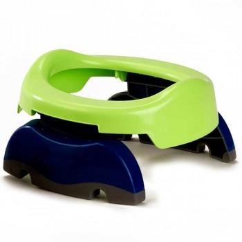 Дорожный горшок 2 в 1 Potette Plus, 23011 / сине-зеленый