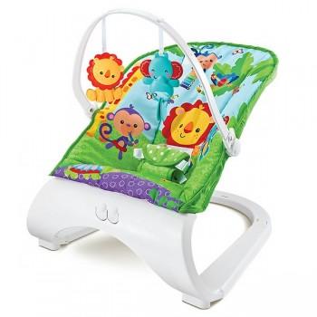 """Кресло-качалка с игрушками и вибрацией Fitch Baby """"Forest Friends"""", 88929"""