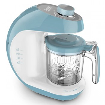 "Блендер-пароварка Funkids ""SteamCooker BFP-1800M"", G.Blue-White"