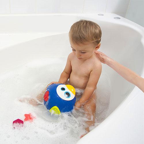 """Игрушка-сортер для купания 6 шт. Babymoov """"Пингвин"""""""