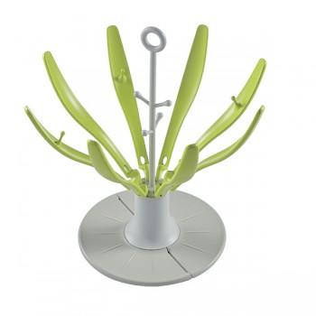 Сушка для бутылок Flower Beaba, 911617 / Rack Neon