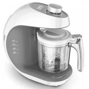 "Блендер-пароварка Funkids ""SteamCooker BFP-1800M"", White-D.Grey"