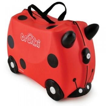 "Каталка-чемодан Trunki ""Harley Ladybug"""