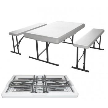 Набор складной мебели Green Glade B113 (стол и 2 скамьи)