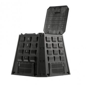 Компостер садовый Prosperplast Evogreen 420 л чёрный IKEV420C-S411