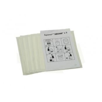 Влаговпитывающие салфетки Separett 5 шт/упак.