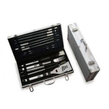 Набор для гриля и шашлыка Green Glade SC007 подарочный в чемодане (18 предметов)
