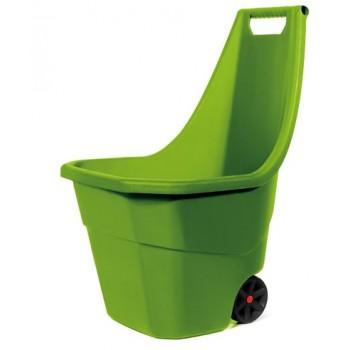 Тачка садовая Prosperplast LOAD & GO оливковый 55 л, пластик