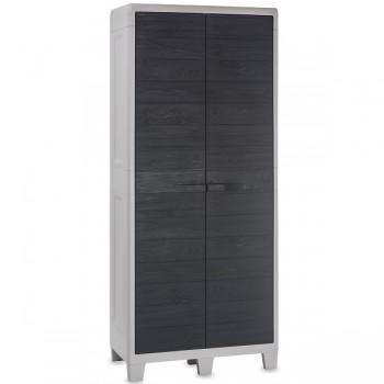 Уличный шкаф TOOMAX WOODY XL 077 пластиковый, антрацит