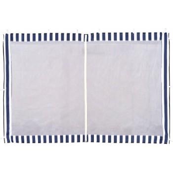 Стенка для садового тента Green Glade 4140 2х3м полиэстер с москитной сеткой синяя