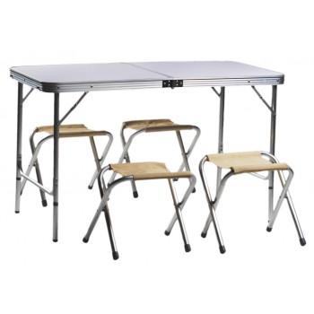 Набор мебели для пикника Green Glade Р702 (стол и 4 стула)