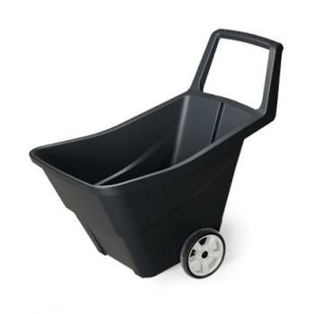 Тачка садовая Prosperplast LOAD & GO II черный 85 л, пластик