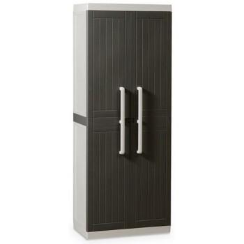 Уличный шкаф TOOMAX WOOD LINE S 255B пластиковый, коричневый