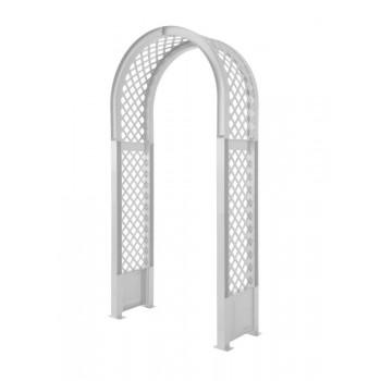 Садовая арка пластиковая KHW 37901, белая