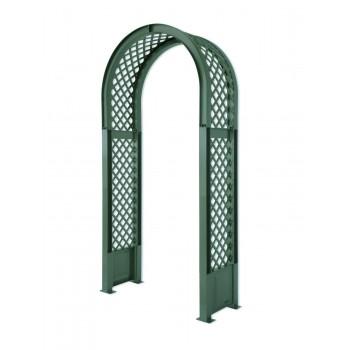 Садовая арка пластиковая KHW 37903, зеленая