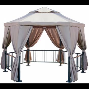 Садовый тент шатер Green Glade 1080 (10,4 кв/м)