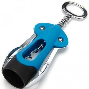 Штопор MAYER & BOCH 23325-1, синий, прорезиненная ручка