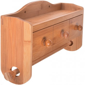 Держатель (подставка) для кухонных полотец MAYER & BOCH 28326, деревянный