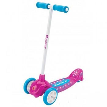 Трёхколёсный самокат Razor Lil Pop (розовый)