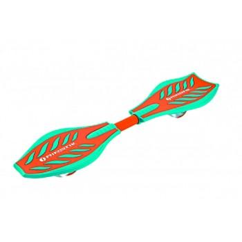 Двухколёсный скейтборд Razor RipStik Berry Brights (бирюзово-оранжевый)