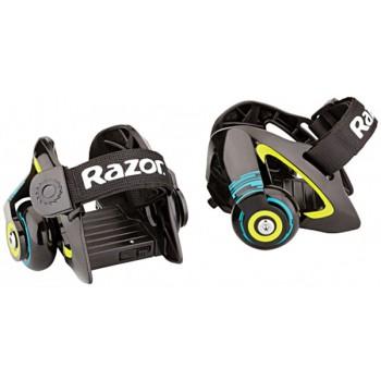 Компактные ролики на обувь Razor Jetts (зелёный)