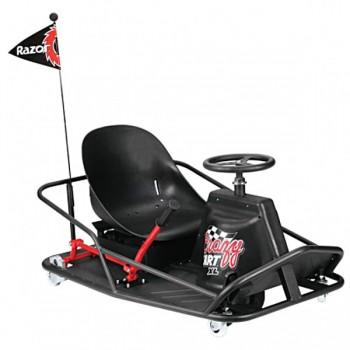 Электро дрифт-карт Razor Crazy Cart XL (чёрный)