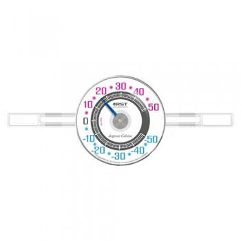Термометр оконный биметаллический на липучках RST 02093