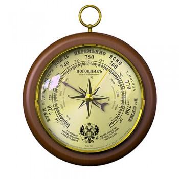"""Барометр """"Роза ветров"""" Погодник RST 05295, диаметр 105 мм"""