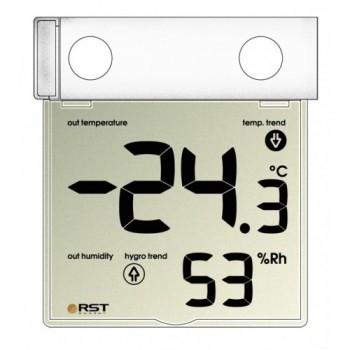 Термогигрометр цифровой RST 01278 уличный на липучке -30 +70