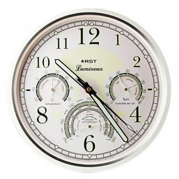 Часы настенные, метеостанция RST 77749 (часы, барометр, термометр, гигрометр)